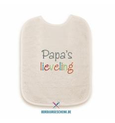 Slabbetje Papa's lieveling